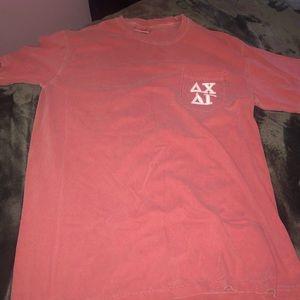 Delta Gamma (DG)+ Delta Chi comfort colors Shirt M